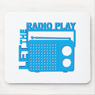 Let the Radio Play Mousepads