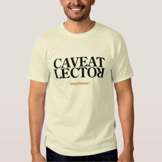 Let the Reader Beware Shirt