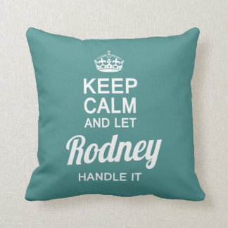 Let the Rodney handle it! Throw Pillow