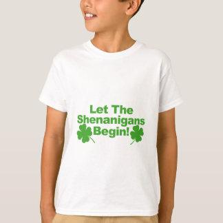 Let The Shenanigans Begin Tshirt.png T-Shirt