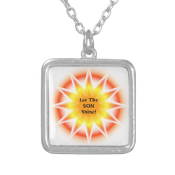 Let The Son Shine 3 Necklace