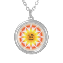 Let The Son Shine 3 Personalized Necklace