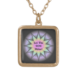 Let The Son Shine Necklaces