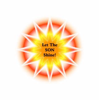 Let The Son Shine Photo Cutouts