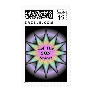 Let The Son Shine Stamp
