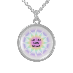 Let The Son Shine Sterling Silver Necklaces