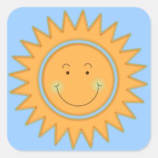 Let the Sun Shine In Square Sticker