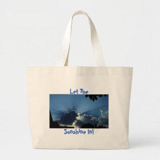 Let The, Sunshine In! Jumbo Tote Bag