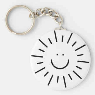 Let The Sunshine In! Keychain