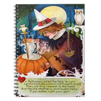 Let The Witch Mix A Charm Notebook