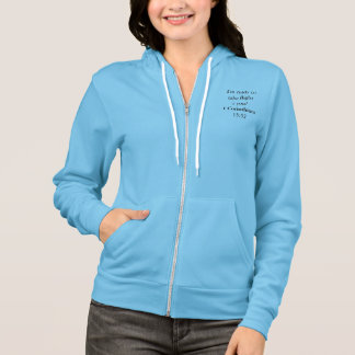 let the word know your ready to take flight ;) hoodie