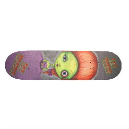 Let Them Eat Brains Skateboard