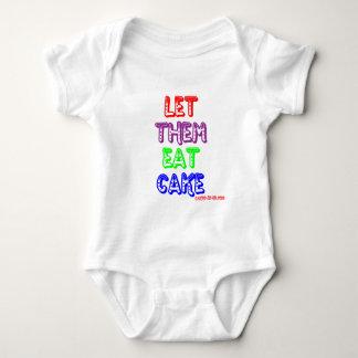 Let them eat cake baby bodysuit