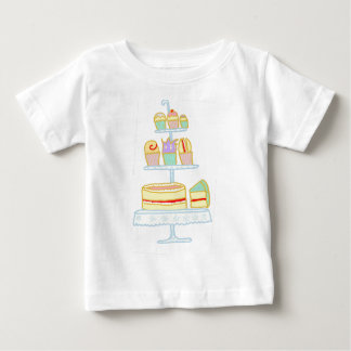 Let Them Eat Cake Baby T-Shirt