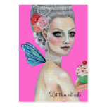 Let them eat cake! large business cards (Pack of 100)