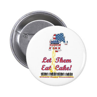 Let Them Eat Cake Buttons
