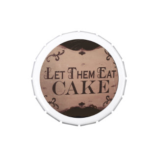 Let them eat cake candy tins