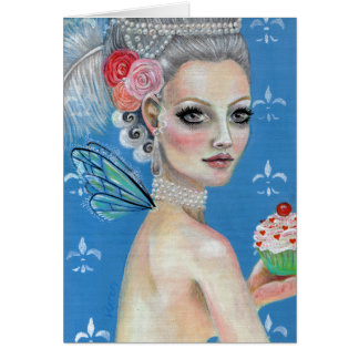 Let them eat cake stationery note card