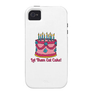 Let Them Eat Cake Vibe iPhone 4 Case