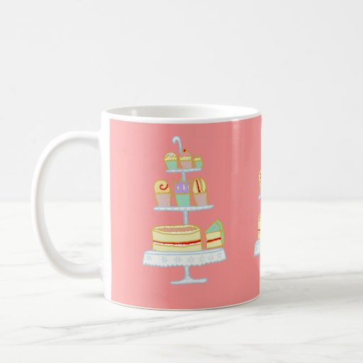 Let Them Eat Cake Coffee Mug