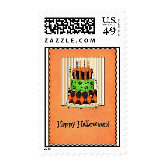 Let Them Eat Cake! - Halloween Postage