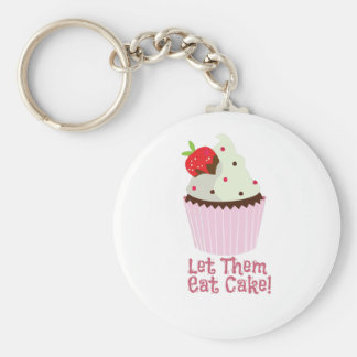 Let Them Eat Cake! Keychains