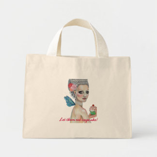 Let them eat cake, Let them eat cupcake! Mini Tote Bag