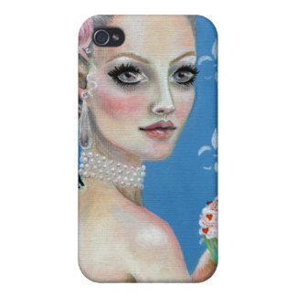 Let them eat cake Lowbrow art iPhone 4 Cases