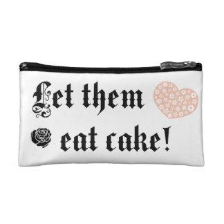 Let them eat cake makeup bag