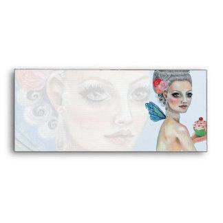 Let them eat cake Marie Antoinette Fairy Envelope