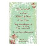 Let Them Eat Cake Party Invitations Flyer Design