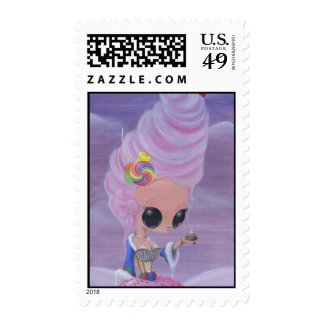 Let them Eat Cake Postage Stamps