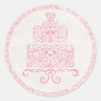 Let Them Eat Cake Sticker - Pink