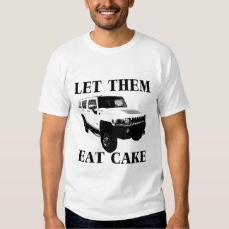 Let Them Eat Cake Tee Shirt