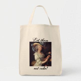 Let them eat cake... tote bag