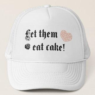 Let them eat cake trucker hat