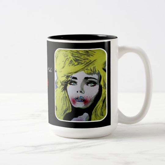 'Let Them Eat Cake' (Vampire) Mug