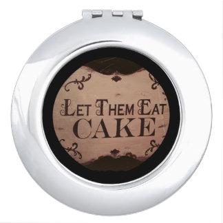 Let them eat cake vanity mirror