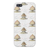 Let Them Eat Cake Vintage French Marie Antoinette Case For iPhone SE/5/5s