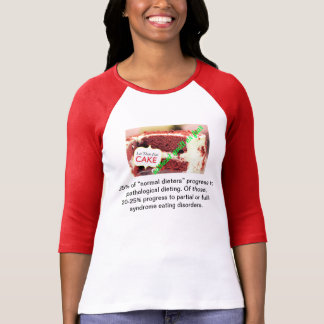 Let them Eat Cake Without Guilt or Fear Tshirt