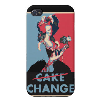 Let Them Eat Change, Cake, whatever.... iPhone 4/4S Cover