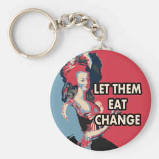 Let Them Eat Change, Cake, whatever.... Keychain