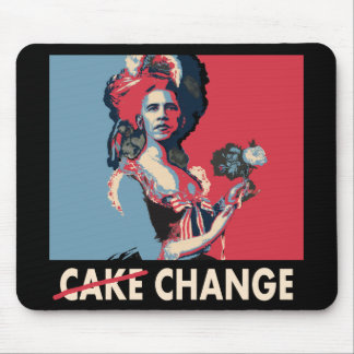 Let Them Eat Change, Cake, whatever.... Mousepads
