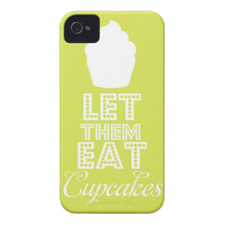 Let Them Eat Cupcakes iPhone 4 Case-Mate Case