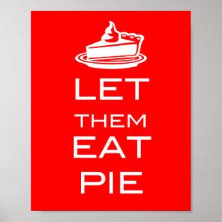 LET THEM EAT PIE - Poster