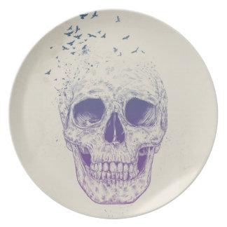 Let them fly melamine plate
