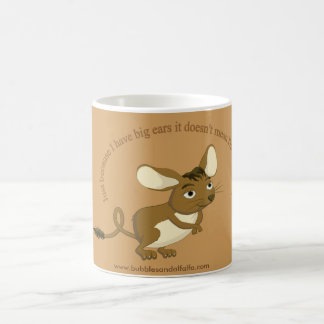 Let them know how you really feel mug. coffee mug