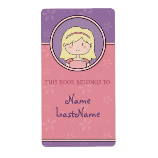 Let them know whose book it is! Cute Bookplates Label
