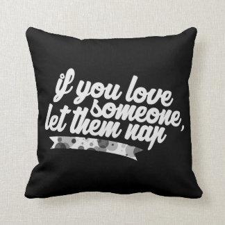 Let Them Nap Pillow