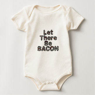Let There Be BACON! Baby Bodysuit